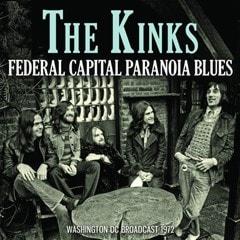 Federal Capital Paranoia Blues: Washington DC Broadcast 1972 - 1
