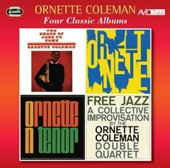 Four Classic Albums: The Shape of Jazz to Come/Ornette!/Tenor/Free Jazz - 1