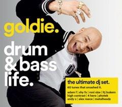 Goldie - Drum & Bass Life - 1