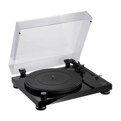 Audio Technica AT-LPW50 Wood Base Piano Black Turntable - 3