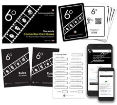 6 Degrees: Movie Connection Card Game - 2