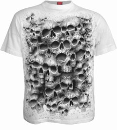 Spiral: White Twisted Skulls (Small) - 1
