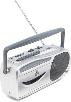 GPO Retro Cassette Player w/ AM/FM Radio - 1