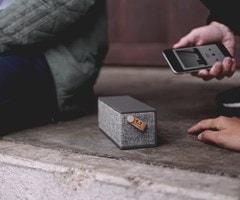 Fresh N Rebel Rockbox Brick Concrete Fabric Edition Bluetooth Speaker - 5