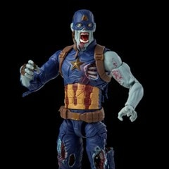 Zombie Captain America: Hasbro Marvel Legends Series Action Figure - 4