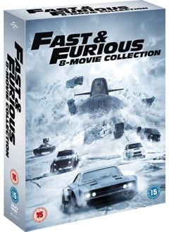 Fast & Furious: 8-movie Collection - 2