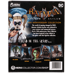 Harley Quinn: Batman Arkham Asylum Figurine: Hero Collector - 4