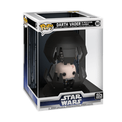 Darth Vader In Meditation Chamber (365) Empire Strikes Back 40TH Anniversary Pop! Deluxe - 2
