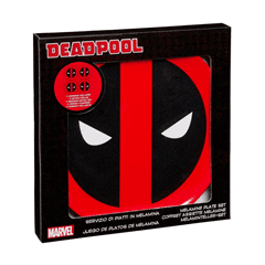 Deadpool: Set Of 4 Melamine Plates - 2