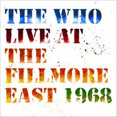 Live at the Fillmore East, 1968 - 1