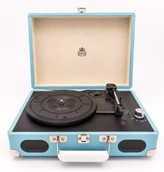 GPO Soho Turquoise Turntable (hmv Exclusive) - 1