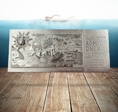 Jaws: Silver Plated Ticket Metal Replica (online only) - 2