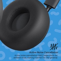Jam Out There Black Active Noise Cancelling Bluetooth Headphones - 5