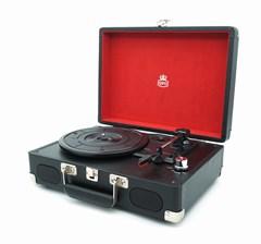 GPO Soho Black/Silver Turntable (hmv exclusive) - 1