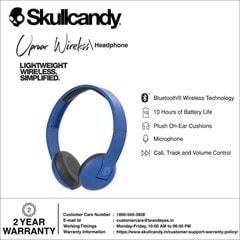 Skullcandy Uproar Royal/Cream/Blue Bluetooth Headphones - 3