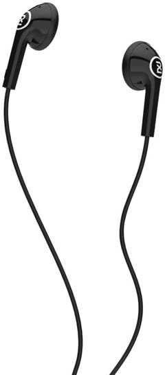 2XL Offset Black Earphones - 1
