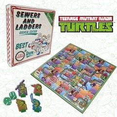 Teenage Mutant Ninja Turtles: Sewers & Ladders Board Game - 1