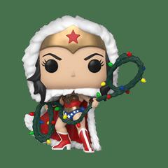 Wonder Woman with String Light Lasso (354) DC Holiday Pop Vinyl - 1