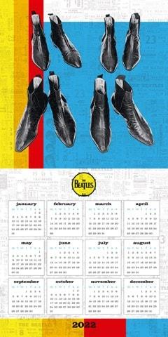 The Beatles Square 2022 Calendar - 3