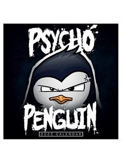 Psycho Penguin: Square 2022 Calendar - 1