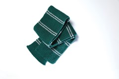 Slytherin House Scarf: Harry Potter Knit Kit - 4