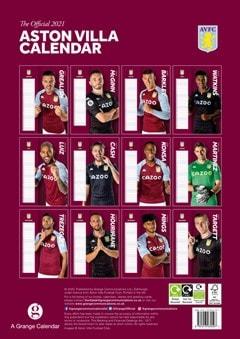 Aston Villa FC: Football A3 2021 Calendar - 3