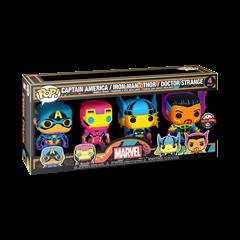 Blacklight: Marvel 4 Pack: (hmv Exclusive) Pop Vinyl - 1