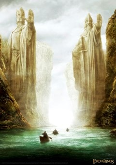Lord of the Rings: Gates Limited Edition Art Print - 1
