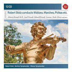 Robert Stolz Conducts Waltzes, Marches, Polkas Etc. - 1