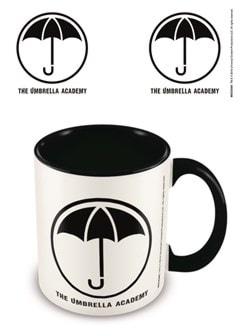 Umbrella Academy: Logo Coloured Inner Mug - 1