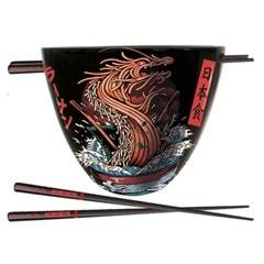 Dragon Ramen Bowl Set - 1