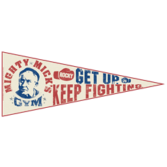 Rocky: Mighty Mick's Gym Pennant - 2