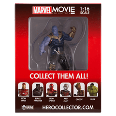 Thanos (Special): Marvel Figurine: Hero Collector - 3