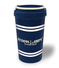 Stranger Things: Scoops Ahoy Eco Mug - 1