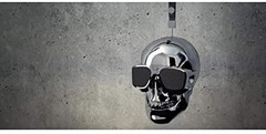 Jarre AeroSkull XS+ Chrome Silver Bluetooth Speaker - 3