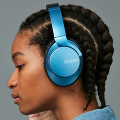 Roam R-Lab Metallic Blue Bluetooth Active Noise Cancelling Headphones - 7