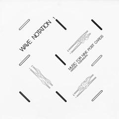 Music for Nine Postcards: Wave Notation 1 - 1