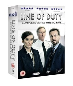 Line of Duty: Complete Series One to Five - 2