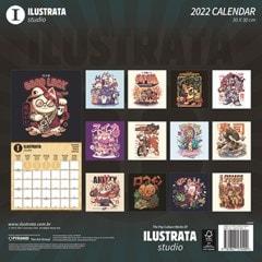Ilustrata (hmv Exclusive) Square 2022 Calendar - 2