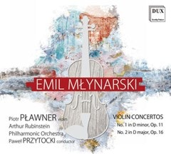 Emil Mlynarski: Violin Concertos: No. 1 in D Major, Op. 11/No. 2 in D Major, Op. 16 - 1