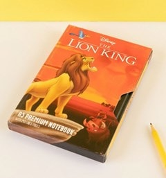 The Lion King (Circle Of Life) VHS Premium A5 Notebook - 2