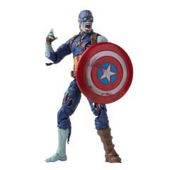 Zombie Captain America: Hasbro Marvel Legends Series Action Figure - 8
