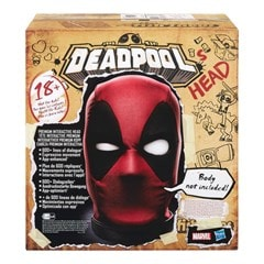 Marvel Legends Premium Interactive Deadpool Head - 6