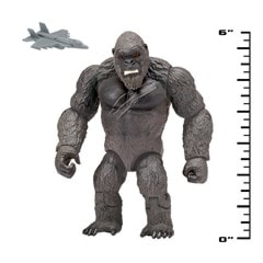 Monsterverse Godzilla vs Kong: Hollow Earth Kong with Fighter Jet Action Figure - 2