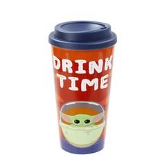The Child: Drink Time: The Mandalorian Travel Mug - 1