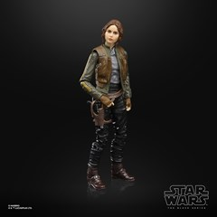 Jyn Erso Rogue One Star Wars Black Series Action Figure - 4