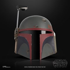 Boba Fett (Re-Armored) Premium Electronic Helmet: Star Wars Black Series - 1