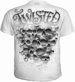 Spiral: White Twisted Skulls (Small) - 2