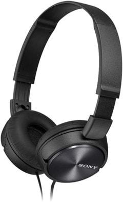 Sony MDRZX310 Black Headphones - 1