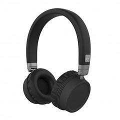Kitsound Nashville Black Bluetooth Headphones - 1